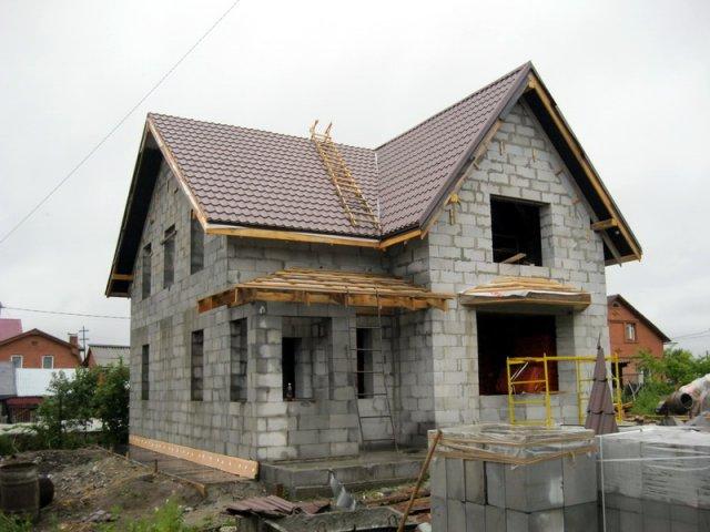 Дома постройка фото