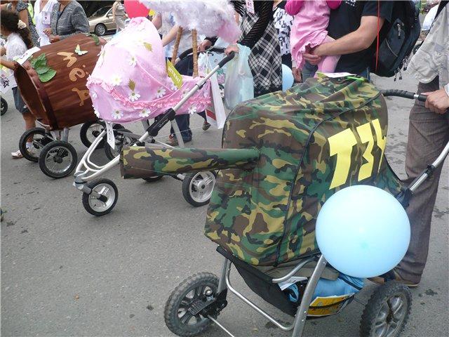 Детскую коляску сделать своими руками