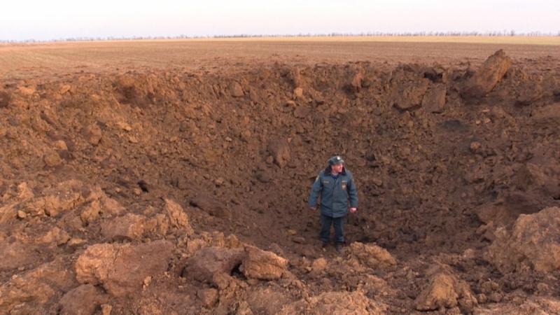 Фото новости - Недалеко от Феодосии обезвредили полутонную бомбу времен войны