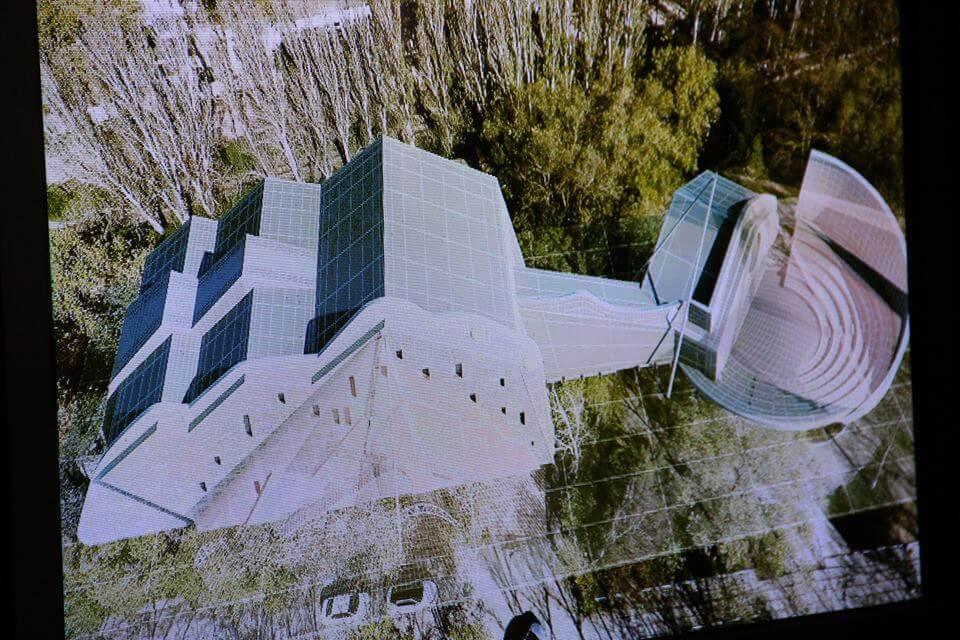 Фото новости - «Волшебный театр» займет руины бывшего кафе в Комсомольском парке Феодосии