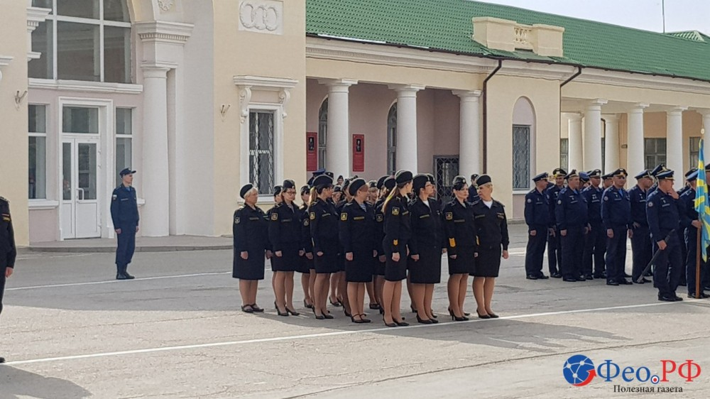 Фото новости - Репетиция парада в Феодосии (ФОТО)