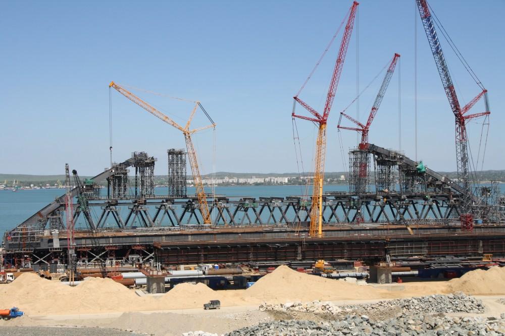 Фото новости - «Фео.РФ» на строительстве Крымского моста (фото)