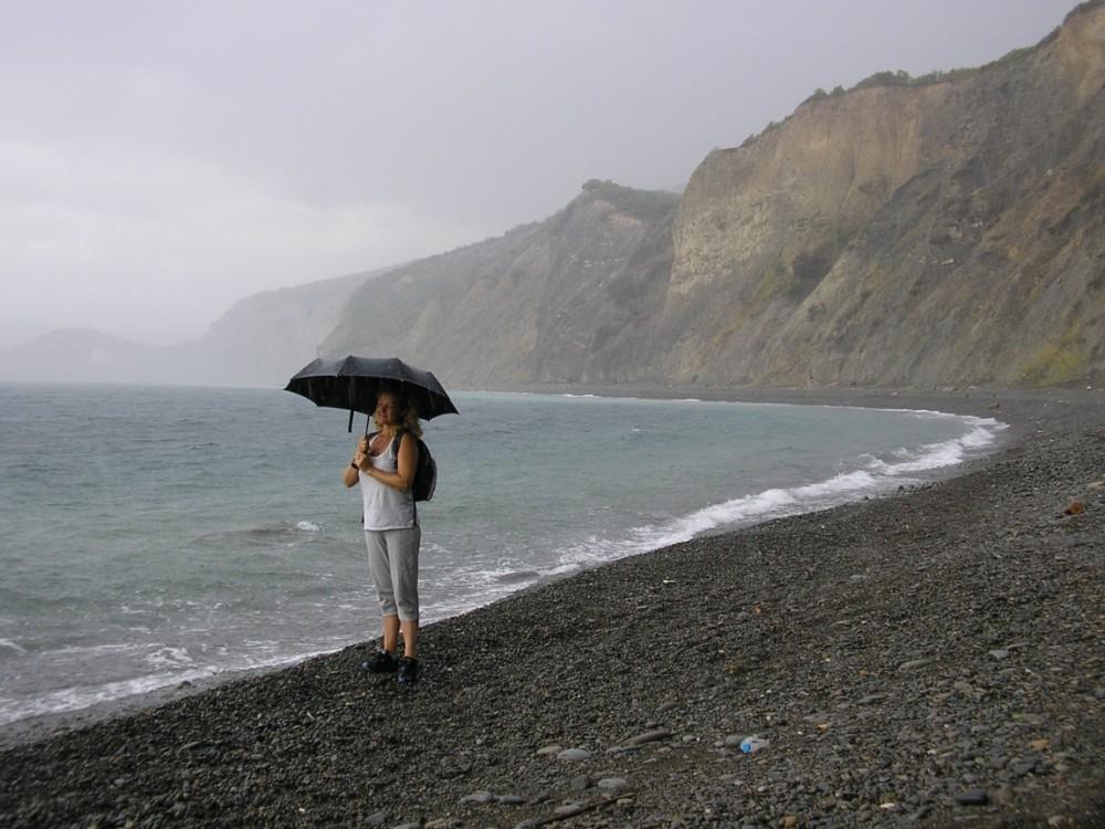 Фото новости - Летняя гроза в Феодосии