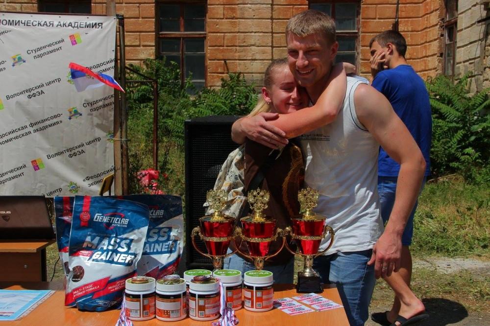 Фото новости - В Феодосии соревновались воркаутеры