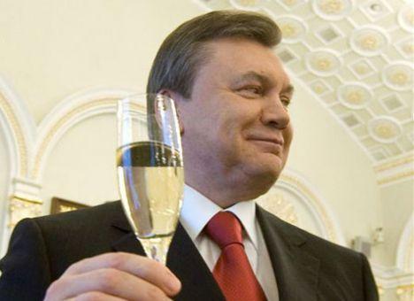 Путин и янукович встретились в крыму