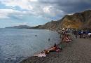 Нудистский пляж - Лисья Бухта / Нудистский пляж в Лисьей Бухте (Щебетовка, Украина) .