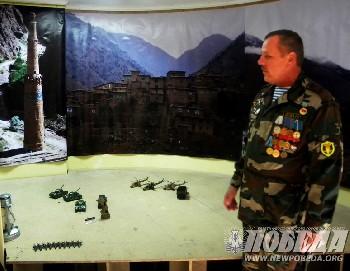 Увеличить - Столб Македонского – в офисе ветеранов