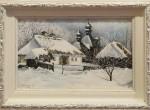 Продам разное: Картина «Рождественское утро -2»