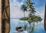 Продам разное: Картина «Остров мечты»