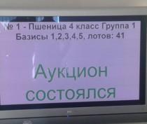 Государство закупило у крымских аграриев на первых биржевых торгах более 12 тыс тонн зерна