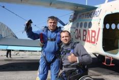 Феодосия. Новость - Крымская команда заняла второе место в международных соревнованиях по прыжкам с парашютной системой «Тандем»