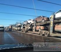 Новости Феодосии: Два десятка фур простаивают на обочине феодосийской трассы в Старом Крыму
