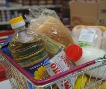 Новости Феодосии: В Щебетовке раздавали бесплатные продуктовые наборы