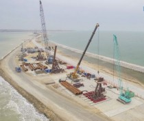 При строительстве Крымского моста нашли бомбу