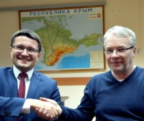 Служба автодорог Крыма подписала контракт с ЗАО «ВАД» на строительство автомобильных подходов к Крымскому мосту