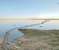 Российский космонавт выложил в Instagram фото строительства Крымского моста с космоса