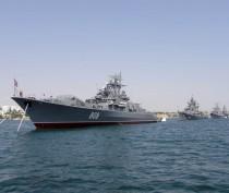 Корабли двух бригад ЧФ выполняют ракетные и артиллерийские стрельбы в Черном море