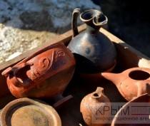 Археологи обнаружили захоронение скифских воинов в ходе раскопок на автоподходах к Крымскому мосту в Керчи