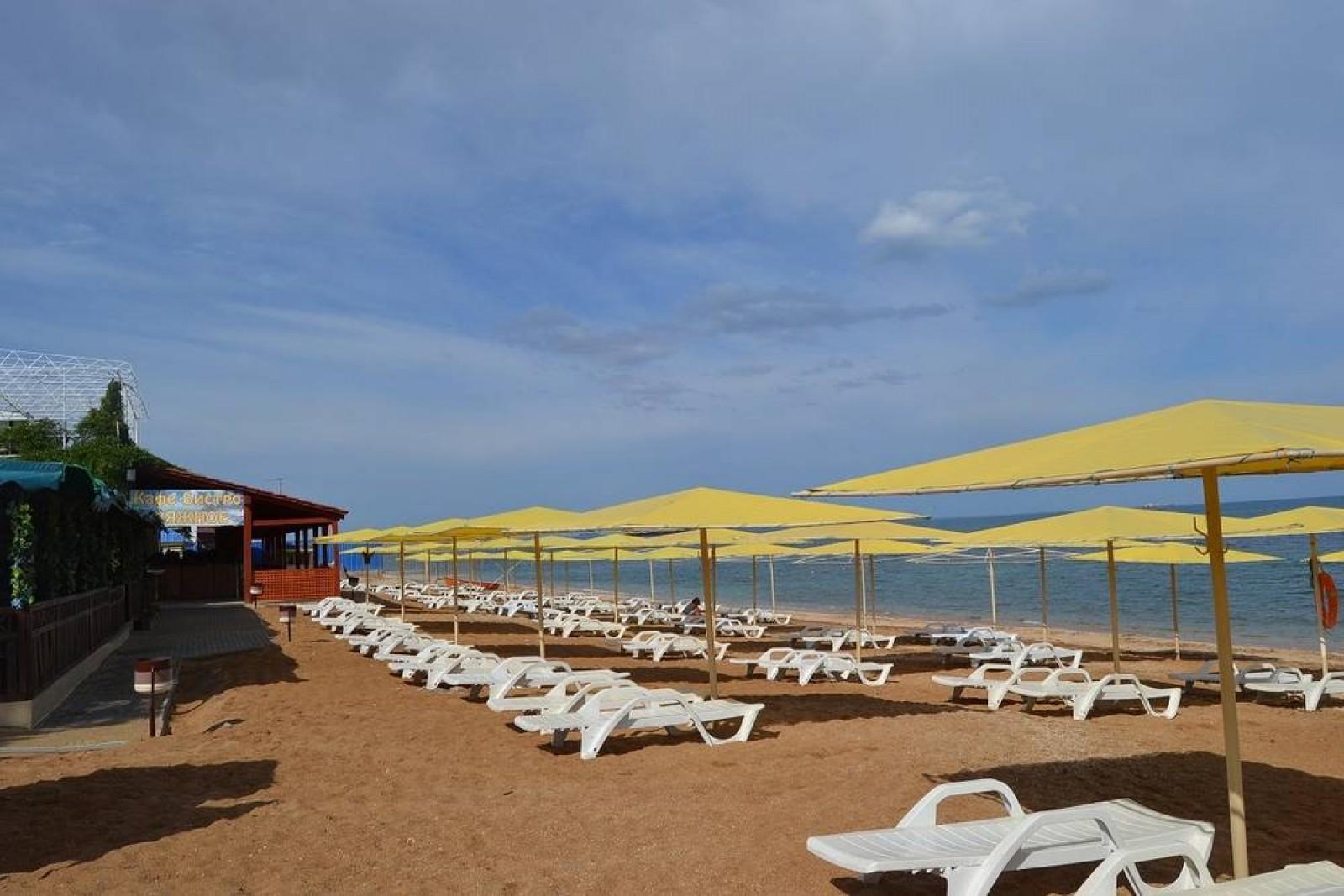 Феодосия фото пляжа баунти