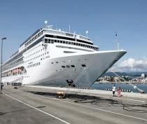 Круизный лайнер «Князь Владимир» вышел в тестовый рейс в Крым