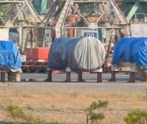 Первые турбины Siemens для строящихся ТЭС прибыли в Крым