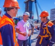 Строители Крымского моста проведут установку арок с минимальным ограничением судоходства