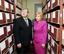 Делегация Российской Федерации ознакомилась с деятельностью феодосийского архивного отдела