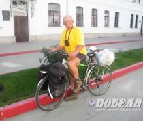 В Феодосии побывал знаменитый путешественник Александр Гречкин