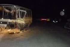 Феодосия. Новость - В Феодосии иномарка протаранила пассажирский автобус
