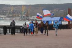 Феодосия. Новость - В Феодосии провели патриотическую пробежку
