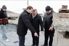 Феодосия. Новость - В Феодосии ремонтируют кровли десяти жилых многоквартирных домов
