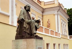 Феодосия. Новость - В феодосийской галерее Айвазовского собираются построить площадку для интерактивных форм работы с посетителями
