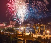 Салют в честь 70 летия Великой Победы!