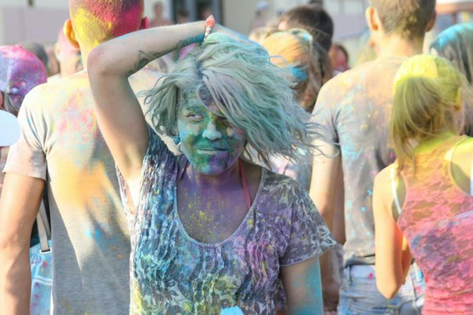 Как самому сделать краску для холи