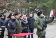 Феодосия. Новость - Новобранцы приняли присягу