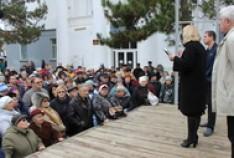 Феодосия. Новость - Состоялась встреча главы округа с жителями Приморского