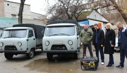 Феодосия получила помощь от побратимов из Ульяновской области