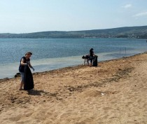 Новости Феодосии: В Феодосии убирали пляжи