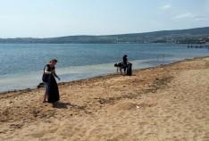 Феодосия. Новость - В Феодосии убирали пляжи