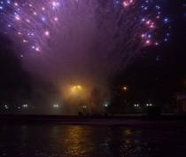 Новости Феодосии: «Первый салют Нового года в Феодосии»