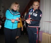 Новости Феодосии: В школе №7 поселка Приморский отремонтировали спортивный зал