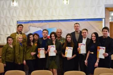 Фото новости - Феодосиец стал призером творческого конкурса о Крымской весне