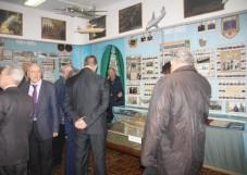 Фото новости - В музее ГЛИЦ на юбилее встретились сослуживцы