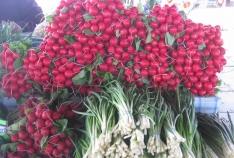 Феодосия. Новость - Цены на огурцы и помидоры в Феодосии еще «кусаются»