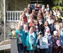 Новости Феодосии: Феодосийские дети достойно выступили в Сочи на конкурсе, посвященном Айвазовскому