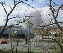 Новости Феодосии: За Керченским шоссе в Феодосии снова пожар