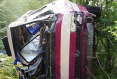 Феодосия. Новость - Суд признал виновным в ДТП водителя автобуса, слетевшего с обрыва под Щебетовкой