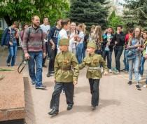 Новости Феодосии: Возле Вечного огня прошел флешмоб