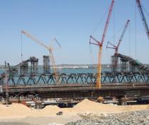 Новости Феодосии: «Фео.РФ» на строительстве Крымского моста (фото)