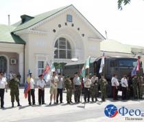 Новости Феодосии: Пограничники Феодосии отметили свой праздник